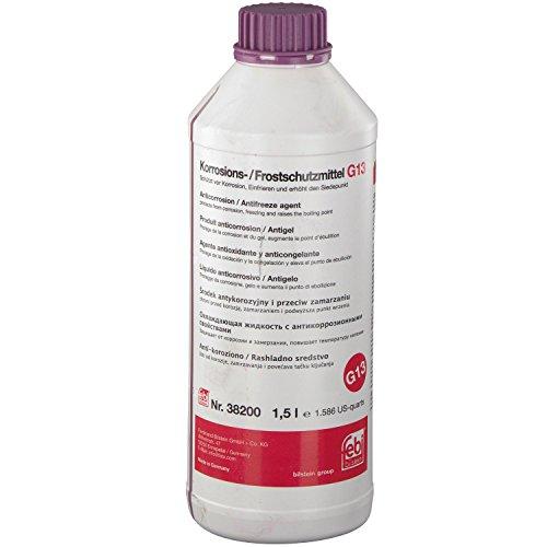 febi bilstein 38200 Frostschutzmittel G13 für Kühler (1,5 Liter) | AUDI, NSU, SEAT, SKODA, VW