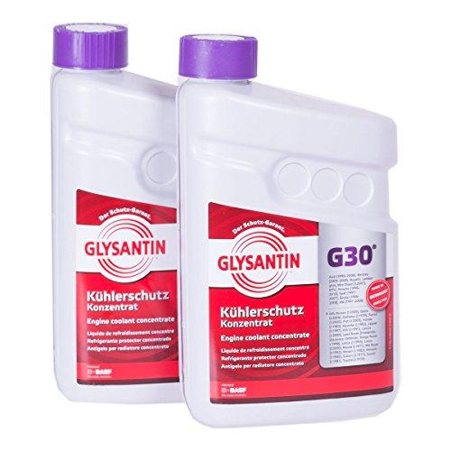 2x 1,5 L Liter BASF Glysantin® G30 Kühlerfrostschutz Frostschutzmittel Frostschutz Kühlerschutz Kühlmittel Konzentrat Kühler Frost Schutz Mittel rotviolett