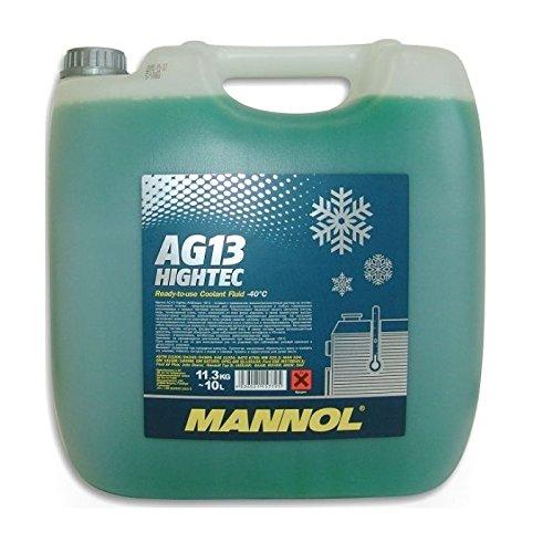 MANNOL Antifreeze AG13 -40 Kühlerfrostschutz Kühlmittel 10L MN4013-10