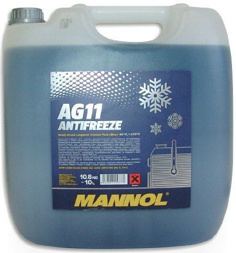 MANNOL Antifreeze AG11 -40 Kühlerfrostschutz Kühlmittel 10L MN4011-10